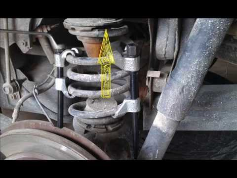 repair noise   rear shocks jeep commander