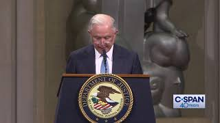 Word for Word: Jeff Sessions Praises Rod Rosenstein (C-SPAN)