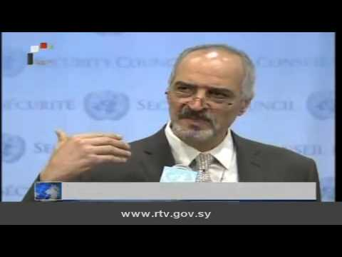 Daily Newscast of Syrian TV, 26/10/2013