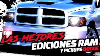 Las Mejores Ediciones Especiales de la RAM y Otras Pickups Dodge