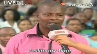 SCOAN 31/08/14: Powerful Emmanuel TV Testimony, Emmanuel TV