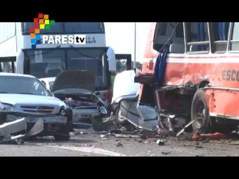 Accidente en la Ruta 7 por Pares tv