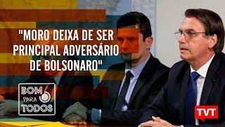 """Moro deixa de ser principal adversário de Bolsonaro"", por Fernando Brito"
