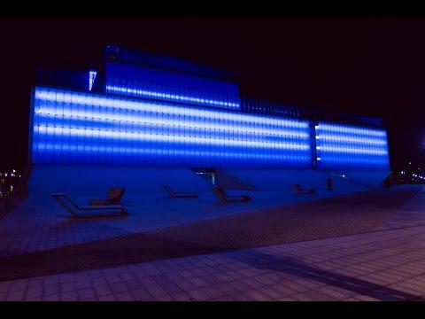 Centrum Spotkania Kultur W Lublinie - Kurtyny LED