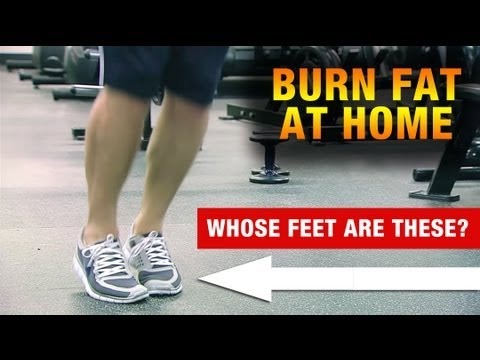 Pro Athlete's HOME FAT LOSS Workout - Burn Fat Anywhere!