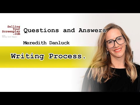 Writing Process Of Meredith D. Writer Of (State Like Sleep)