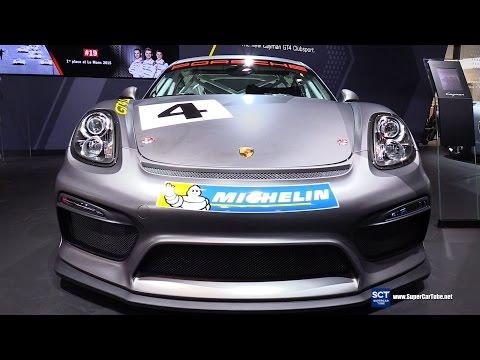 2017 Porsche Cayman GT4 Clubsport - Exterior and Interior Walkaround - 2015 LA Auto Show