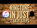 Make Ringtone for iPhone using iTunes & a free app- 2017 (in 2 easy steps!)