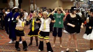A-Kon 2009 Dallas Texas - Napoleon Dynomite Kid Dancing A-Con Acon AKON 20