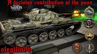 World of Tanks console PS4 / Об140 - Решающий вклад на перевале