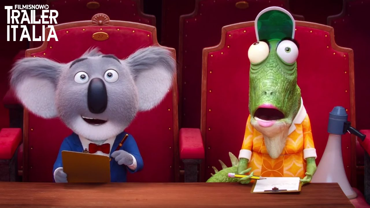 SING Teaser Trailer Italiano Ufficiale [HD]