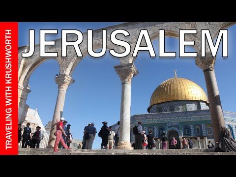 Visit Jerusalem Israel Tourism (Attractions) | Dome of the Rock/Temple Mount | Travel Guide Video