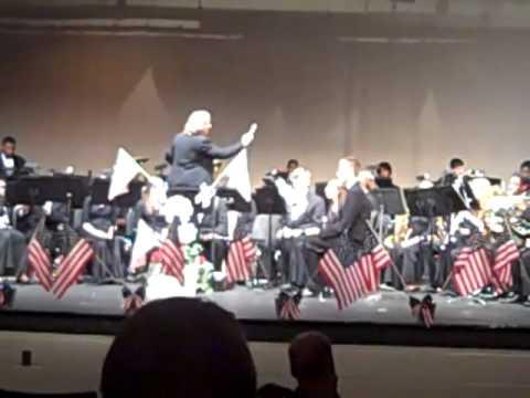 Maurice J. McDonough High School Wind Ensemble Spring Concert 2011- Xerxes