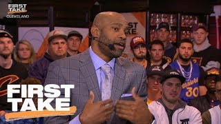 Vince Carter Doesn't Blame Kevin Durant For Move To Warriors | First Take | June 7, 2017