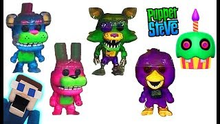 Five Nights at Freddy's Funko POP BLACKLIGHT Fnaf REVEAL Checklist Figures Exclusive 2018