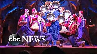 Cast of Broadway's 'Aladdin' Perform 'Friend Like Me' Live on 'GMA'