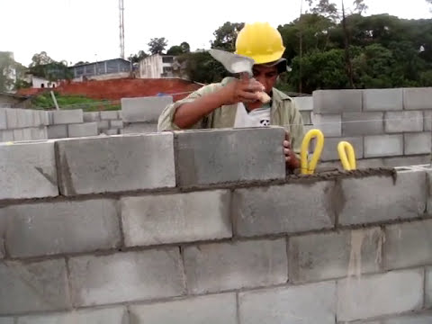 Assentamento Bloco Estrutural   Blocos e Lajes Itaim