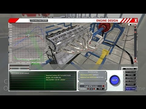 Realistic Engine Building Game - 008 - Bury That Needle & Ping That Rev Limiter!