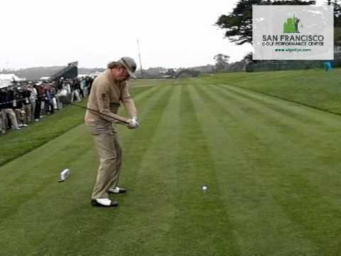 Miguel Angel Jimenez Slow Motion Golf Swing DL 300 FPS