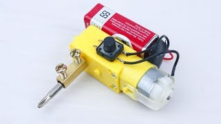 5 Awesome Life Hacks with DC Motor