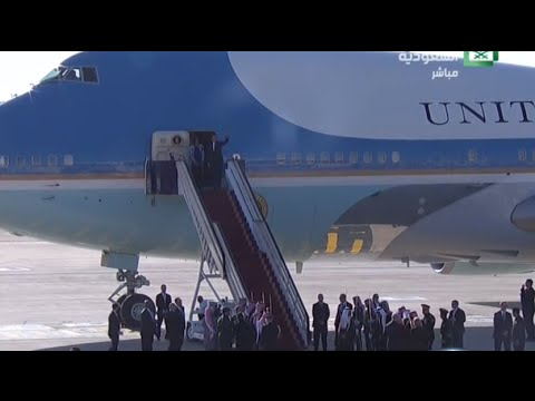 PTV news 21 aprile 2016 - Ferale accoglienza per Obama a Riyadh