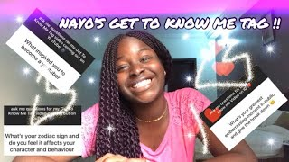 GET TO KNOW ME TAG 🤪❗️|| MY PANTS TORE IN FRONT OF MY CRUSH😕💔💀|| LIFE OF NAY0