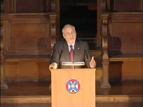Joseph Stiglitz: Globalisation & the 21st Century Enlightenment