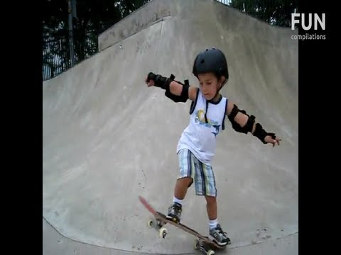 Best 4 Year Old Skateboarders Ever