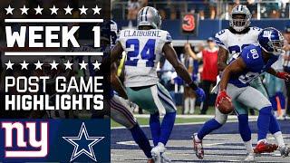 download lagu Giants Vs. Cowboys  Nfl Week 1 Game Highlights gratis