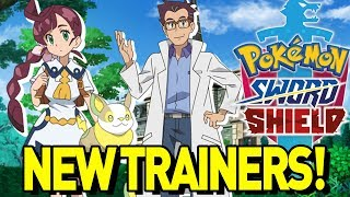 NEW Pokemon Sword and Shield CHARACTERS REVEALED for Anime, Huge Rumors and Starter Theory!