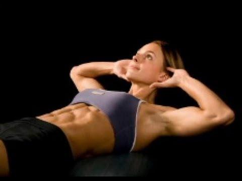 Exercices abdominaux pour femmes et hommes pour avoir des abdos - YouTube