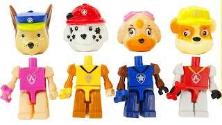 Paw Patrol Legos have Wrong Heads