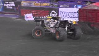 Monster Jam- Max D in Foxborough- June 21, 2014