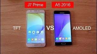 Samusung Galaxy J7 Prime Vs A5 2016 Detail Comparison|Hindi