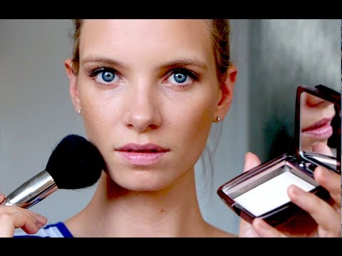 Summer Makeup: How to look GLOWING but not SHINY!