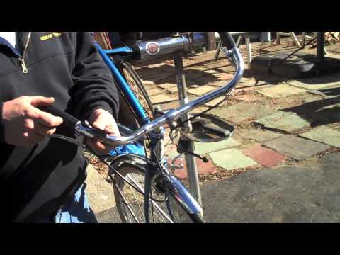 Brakes & Shifter - Bike Repair on Schwinn Speedster Part 6 - BikemanforU Show Episode 28