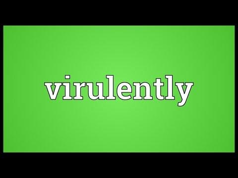 Header of virulently