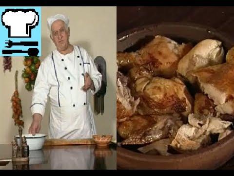 Цыплёнок табака. Как проще всего приготовить? Грузинская кухня. Рецепт ТВ.