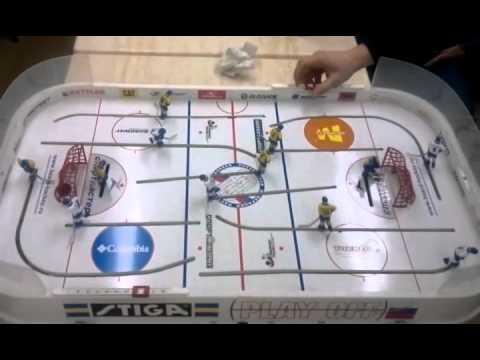 Настольный хоккей подборка голов