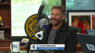 Julian Edelman's Great Reaction to Bill Belichick Destroying a Reporter | The Rich Eisen Show