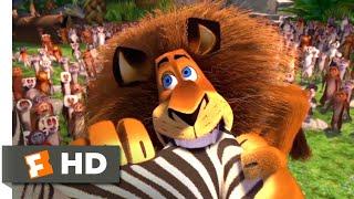 Madagascar (2005) - Alex Goes Crazy Scene (7/10) | Movieclips