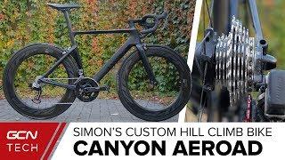 Si's Custom Canyon Aeroad Hill Climb Bike