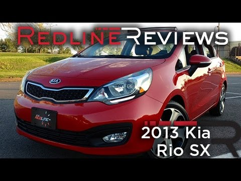 Redline Review: 2013 Kia Rio SX