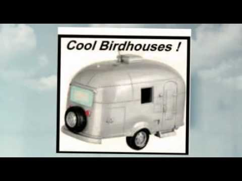 Airstream Travel Trailer RV Birdhouse