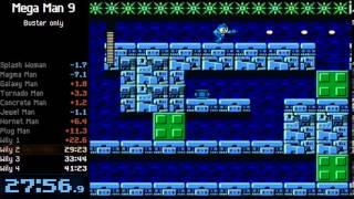 Mega Man 9 - Buster only - 40:46