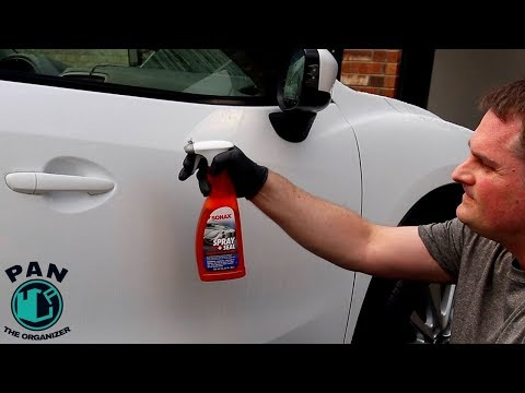 SONAX Spray and Seal Review: DIY spray-on sealant!!