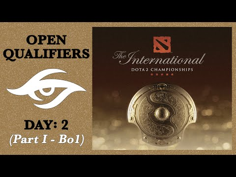 Dota 2 | Road to The International | Open Qualifiers: Day 2 - Part I