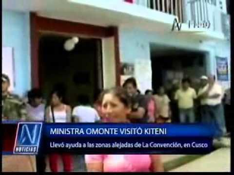 Ministra de la Mujer inauguró el Centro de Emergencia Mujer de Kiteni (Canal N)