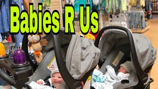 Twin Newborns Go Shopping! Super Realistic Reborn Baby Doll