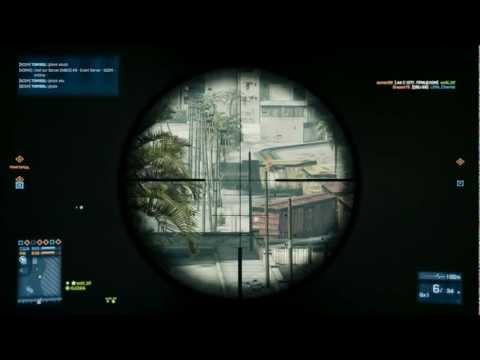 Sniper school Battlefield 3 ( Russian) Part II